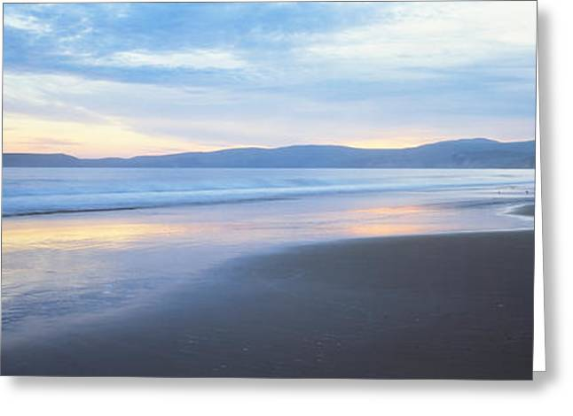 California Ocean Photography Greeting Cards - Seascape Point Reyes, California, Usa Greeting Card by Panoramic Images