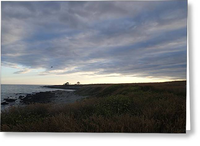Robert Nickologianis Greeting Cards - Seascape Greeting Card by Robert Nickologianis