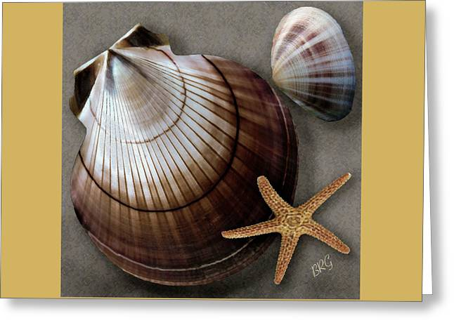 Shell Pattern Greeting Cards - Seashells Spectacular No 38 Greeting Card by Ben and Raisa Gertsberg