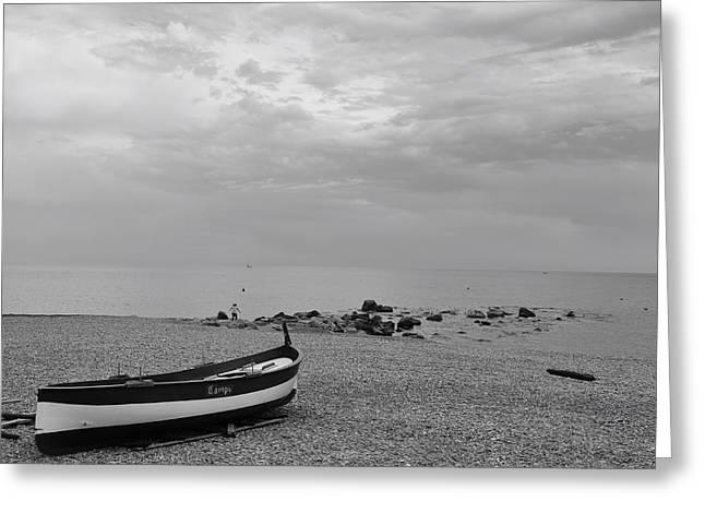 Seashore Greeting Card by Benoit Charon