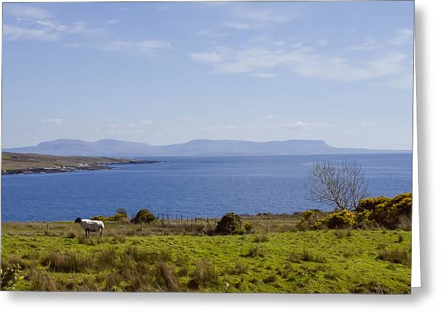 Seaside Digital Greeting Cards - Seaside in Donegal Ireland Greeting Card by Bill Cannon