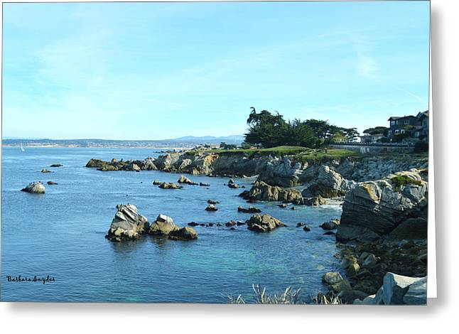 In The Distance Greeting Cards - Seaside In The Distance Greeting Card by Barbara Snyder