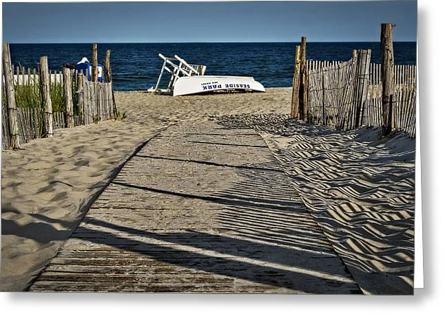 Seaside Heights Greeting Cards - Seaside Park New Jersey Shore Greeting Card by Susan Candelario