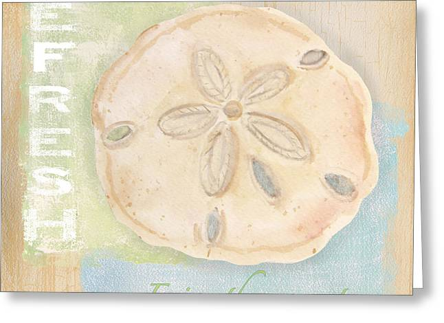 Jelly Fish Paintings Greeting Cards - Seaside Retreat-C Greeting Card by Jean Plout