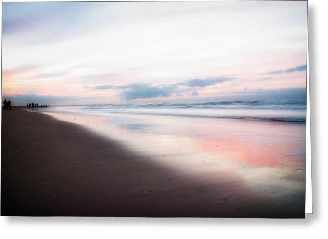 Walk On The Beach Greeting Cards - Seaside Solitude Greeting Card by Mountain Dreams
