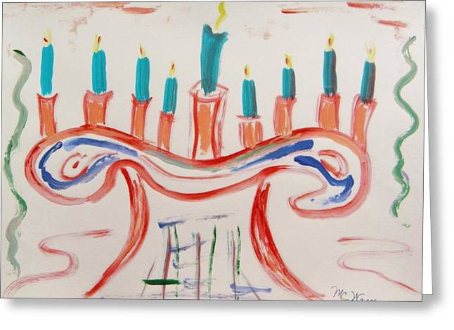 Festival Of Peace Greeting Cards - Season of the Lights Greeting Card by Mary Carol Williams