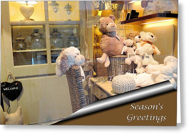 Wishes Greeting Cards - Seasons Greetings Greeting Card by Guido Strambio