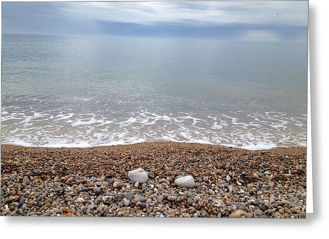 Scott Wilmot Greeting Cards - Seaton beach 1 Greeting Card by Scott Wilmot