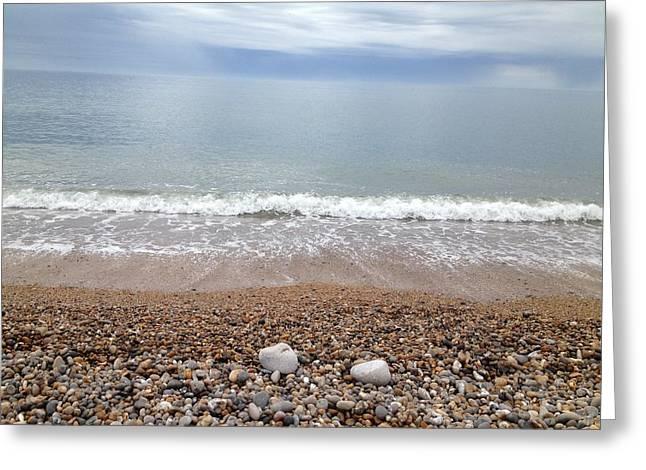 Scott Wilmot Greeting Cards - Seaton  beach 2 Greeting Card by Scott Wilmot