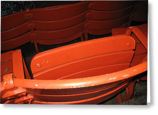 Seats - Nationals Park - 01132 Greeting Card by DC Photographer