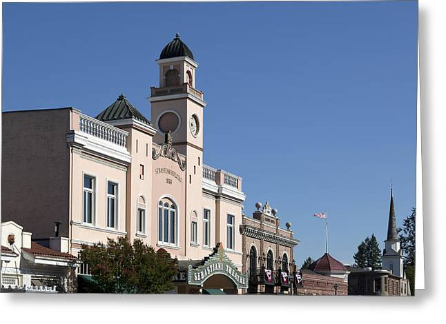 Sonoma Greeting Cards - Sebastiani Theatre in Sonoma Greeting Card by Carol M Highsmith