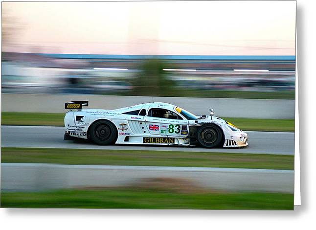 Sebring S7 Greeting Card by Zachary Cox