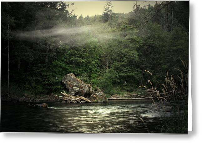 Seclusion On The Trinity Greeting Card by Joyce Dickens
