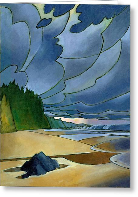 Beach Landscape Greeting Cards - Secret Beach Greeting Card by Douglas Simonson