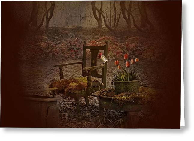 Secret Gardens Greeting Cards - Secret garden Greeting Card by Jeff Burgess
