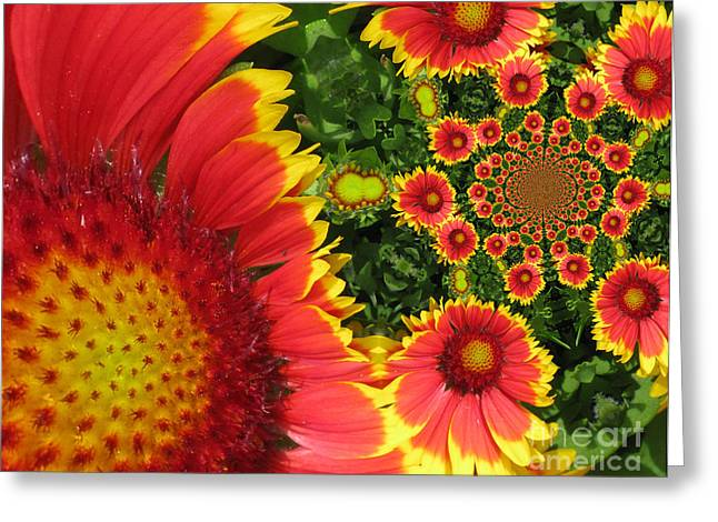 Magissimo Greeting Cards - Secret Garden Greeting Card by Maria Watt