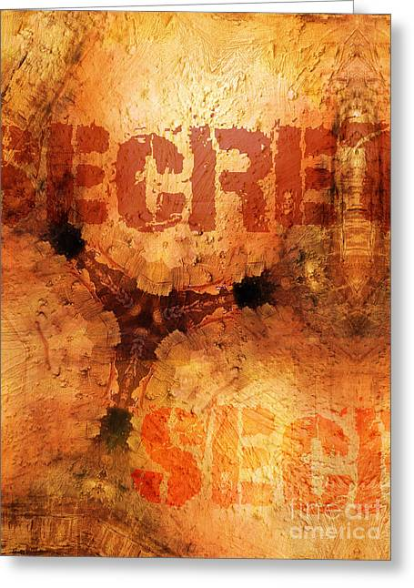Secret Greeting Card by Lutz Baar