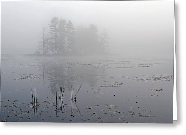 Western Ma Photographs Greeting Cards - Secret Silence Greeting Card by Juergen Roth
