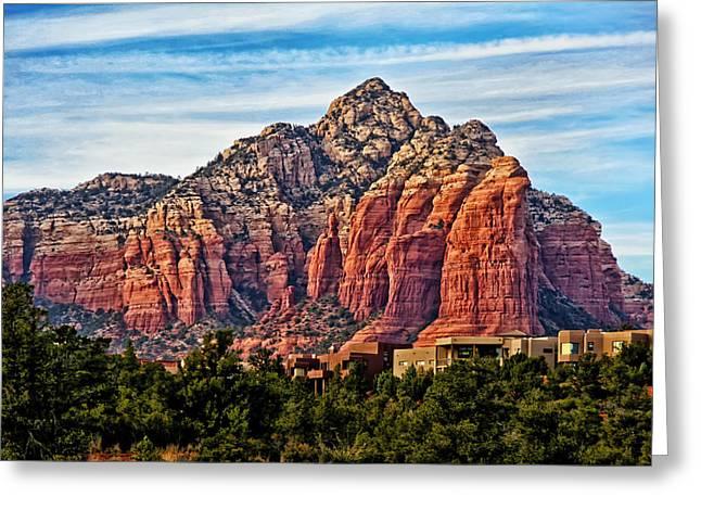 Oak Creek Greeting Cards - Sedona Arizona Red Rock Greeting Card by Jon Berghoff