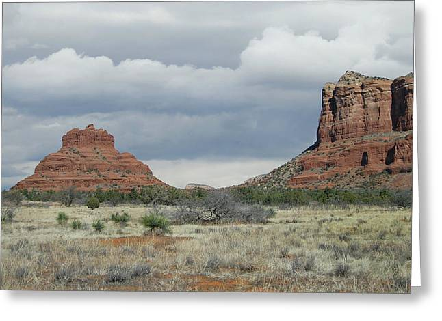 Prescott Greeting Cards - Sedona Beauty Greeting Card by Gordon Beck