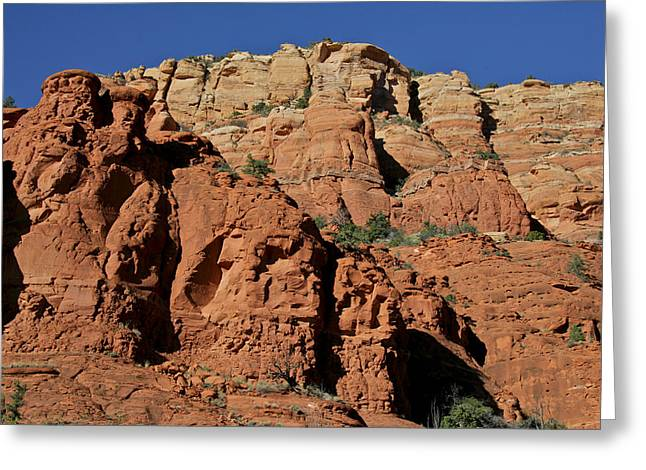 Cathedral Rock Greeting Cards - Sedona Cathedral Rock Greeting Card by Steven Lapkin