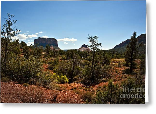 Fineartphotography Greeting Cards - Sedona Heat of the Day Greeting Card by Lee Craig