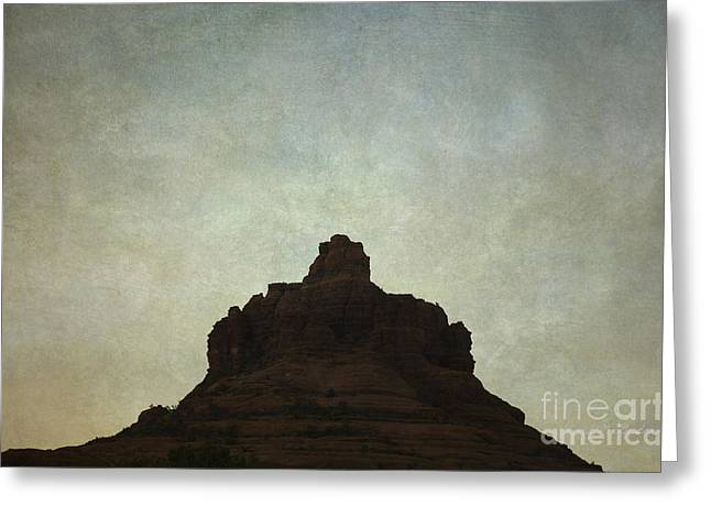 Elevation Digital Art Greeting Cards - Sedona Landscape XIV Greeting Card by David Gordon