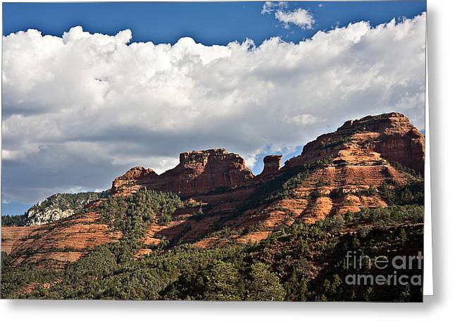 Oak Creek Greeting Cards - Sedona Spring Welcome Greeting Card by Lee Craig