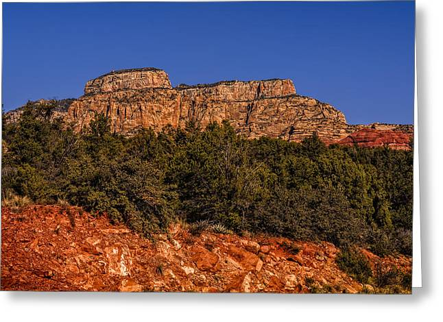 Beauty Mark Greeting Cards - Sedona Vista 49 Greeting Card by Mark Myhaver