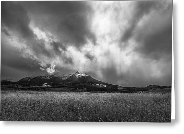 Colorado Artwork Greeting Cards - See My Soul Greeting Card by Jon Glaser