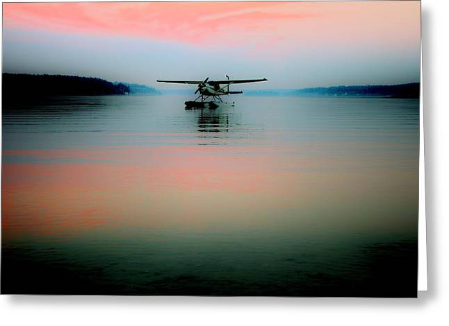 Seaplane Greeting Cards - See Plane Greeting Card by Benjamin Yeager