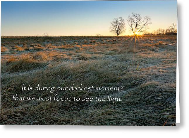 Connecticut Greeting Cards - See The Light Greeting Card by Bill  Wakeley