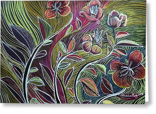 Vibrant Pastels Greeting Cards - Seeing Greeting Card by Dandilion Song