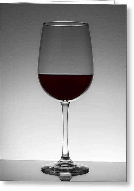 Wine Pour Greeting Cards - Seeing Red Greeting Card by Eugene Campbell