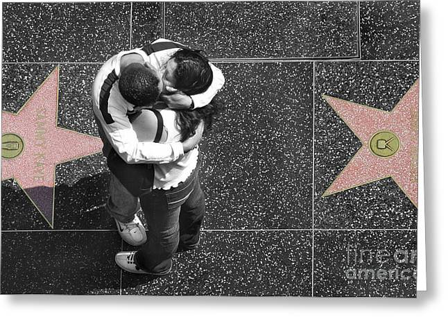 Hollywood Photographs Greeting Cards - Seeing Stars Greeting Card by Dan Holm