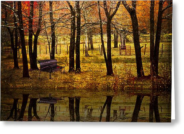Oak Creek Greeting Cards - Seeing You Again Greeting Card by Debra and Dave Vanderlaan