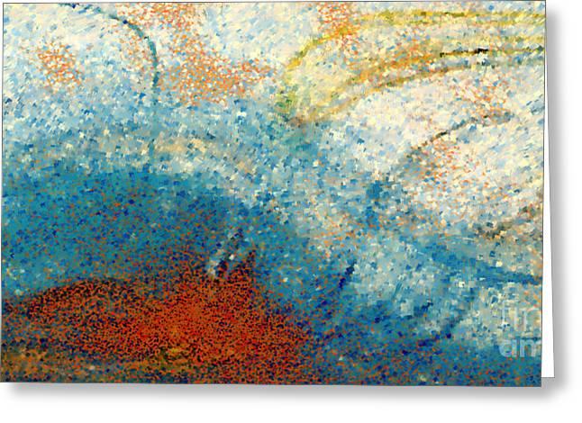 Seek First- Great Big Art Greeting Card by Great Big Art