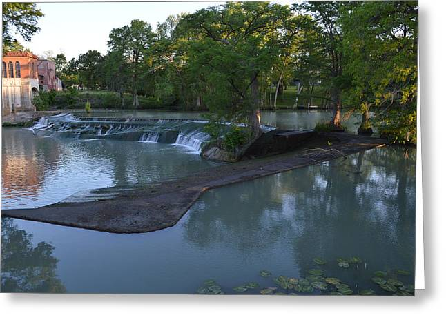 Seguin TX 01 Greeting Card by Shawn Marlow