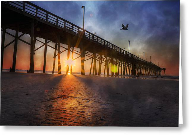 Seize the Day Greeting Card by Betsy C  Knapp
