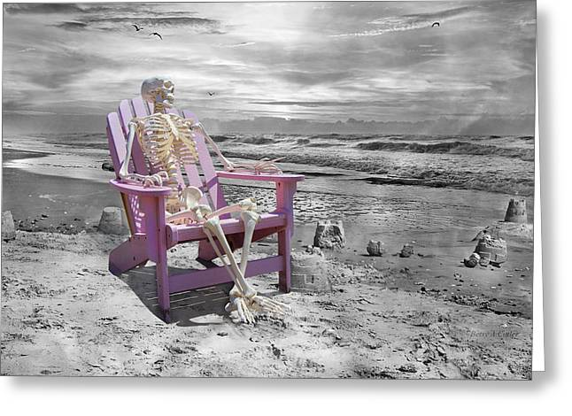 Selective Greeting Card by Betsy C Knapp