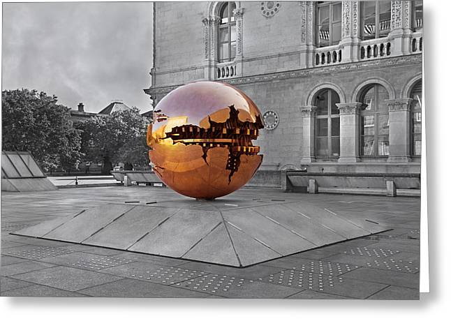 Campus Life Greeting Cards - Selective World Greeting Card by Betsy A  Cutler