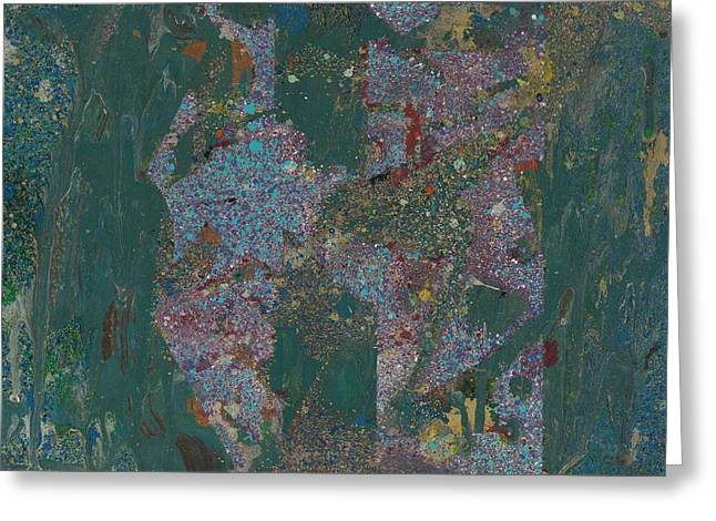 Stellar Paintings Greeting Cards - Self Deception Greeting Card by Anonymous