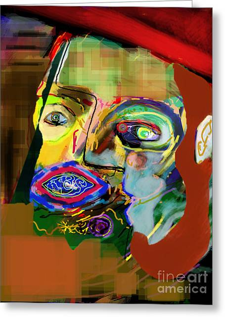 Inner Self Greeting Cards - Self Development 16 Greeting Card by David Baruch Wolk