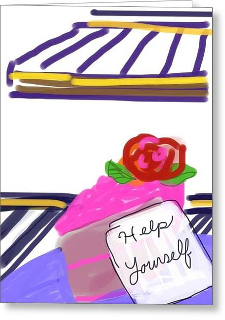 Inner Self Greeting Cards - Self Help Greeting Card by CD Good