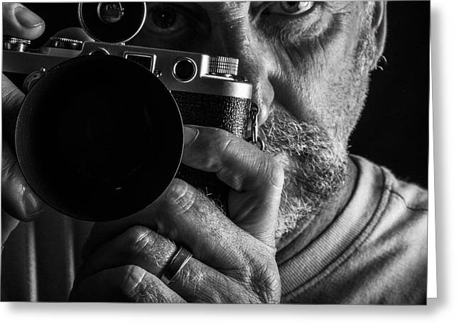 Photo Art Gallery Greeting Cards - Self Greeting Card by Kevin Cable