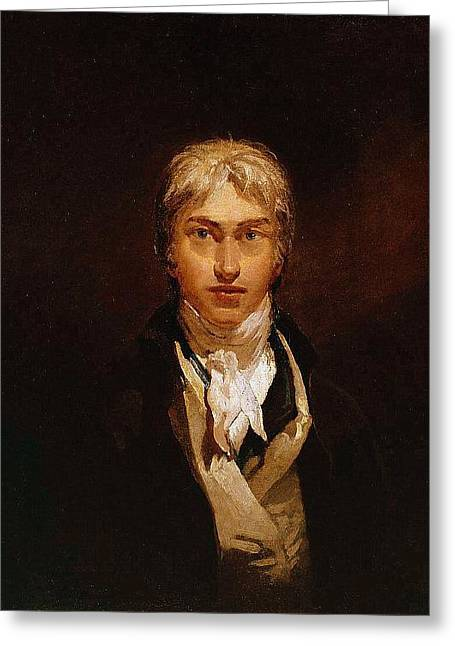 Self Portrait Greeting Card by Joseph Mallord William Turner