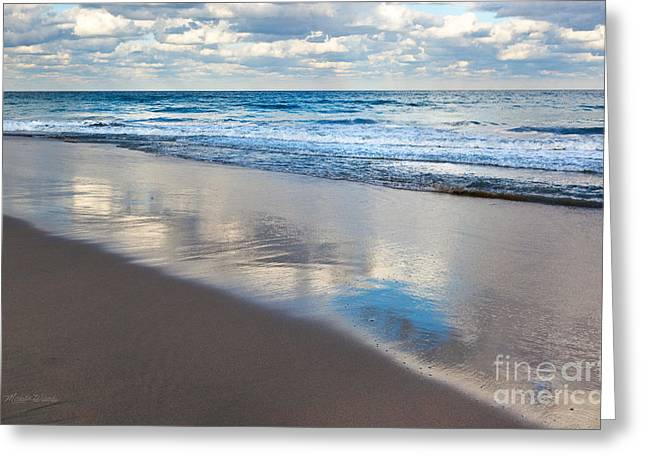Self Reflection Greeting Card by Michelle Wiarda