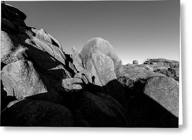 Self-portrait Photographs Greeting Cards - Selfie II  Greeting Card by Steven Reed
