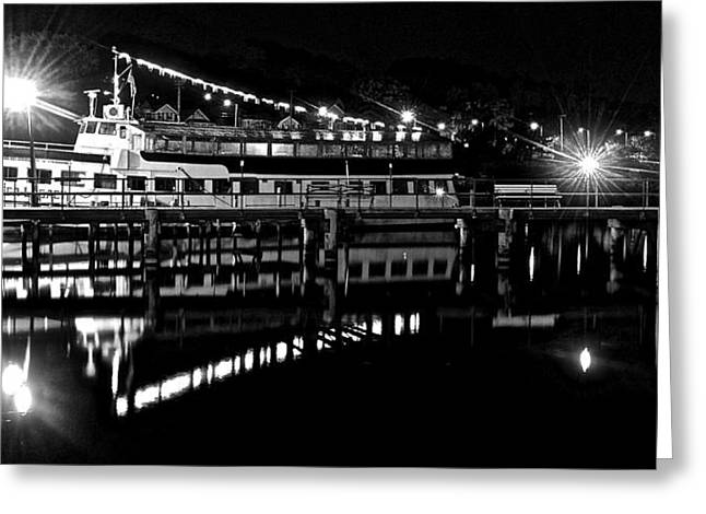 Reflecting Water Greeting Cards - Seneca Lake Watkins Glen New York Greeting Card by Frozen in Time Fine Art Photography