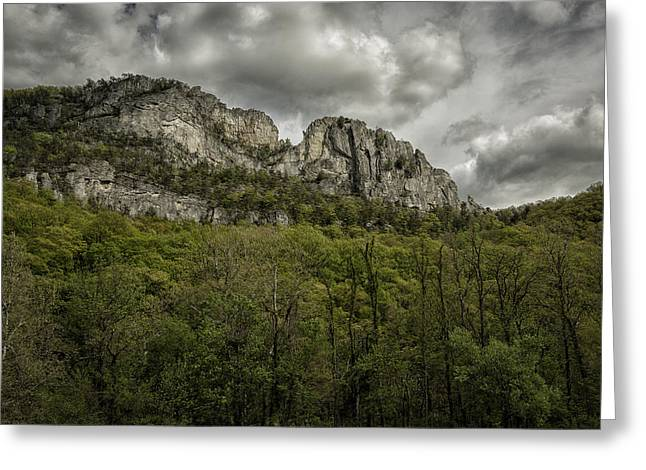 Pendleton County Greeting Cards - Seneca Rocks  Greeting Card by Mark Serfass